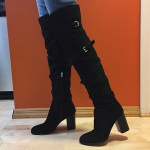 9d2eaca0ca4 Sam Edelman Shoes - Sam Edelman over the knee boots real suede
